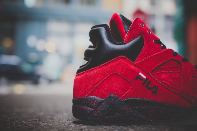 """FILA Cage,FILA  RISE x FILA Cage """"New York Is For Lovers"""" 联名鞋款"""