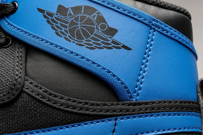 "638471-007,AJ1,Air Jordan 1 638471-007 AJ1帆布AJKO 黑蓝再现,Air Jordan 1 KO ""Sport Blue"" 官方发布"