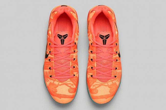 "Nike Kobe 9 EM ""Bright Mango""市售资讯"