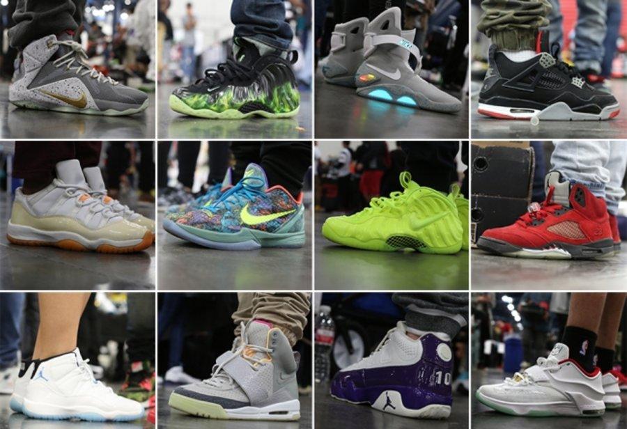 Sneaker Con,球鞋上脚  Sneaker Con 12 月休斯顿站球鞋上脚