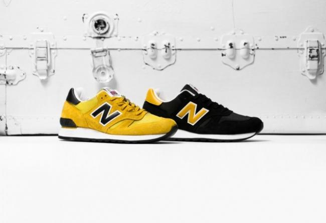 英產 New Balance 670 黑黃雙色套裝登場