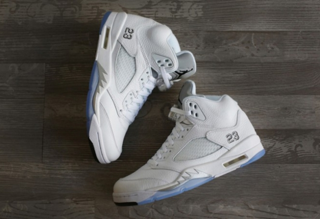 "136027-130,AJ5,Air Jordan 5 136027-130AJ5 白银精品,Air Jordan 5 ""Metallic Silver"" 下周登场"