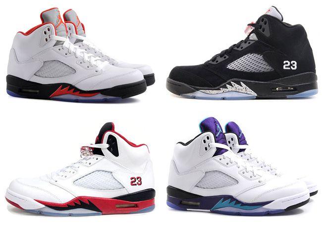 AJ5,Jordan 5,Air Jordan 5 air jordan 5 走进 Air Jordan 5 的故事