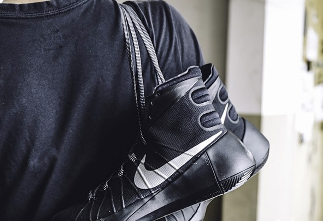 HD2015,Hyperdunk 2015,Nike HD2015 Nike Hyperdunk 2015 黑银上脚实拍