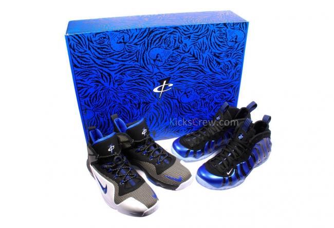 nba 联盟对于球鞋配色的要求,penny 在换衣间使用马克笔,在蓝色的发泡