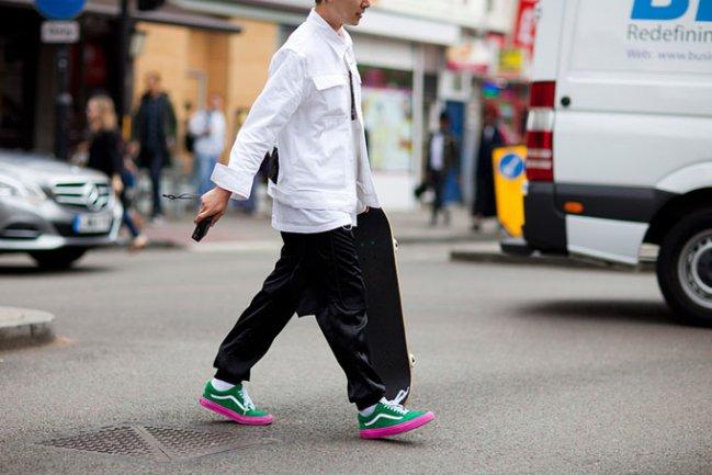 2015,伦敦,时装,周球鞋,周,球鞋,街,拍,一览,  2015 伦敦时装周球鞋街拍一览