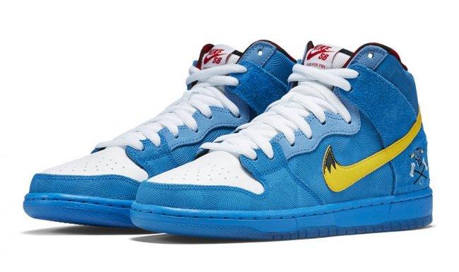 "Dunk High,Nike,Nike SB  Familia x Nike SB Dunk High PRM ""Blue Ox"" 发售信息"