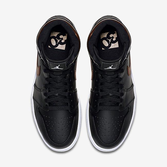 332550-015,AJ1,Air Jordan 1 332550-015AJ1 Air Jordan 1 Rare Air 黒铜配色现已发售