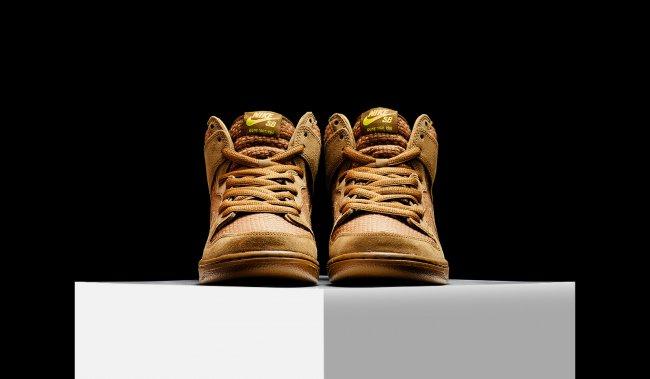 Nike SB Dunk High,313171-227 313171-227 Nike SB Dunk High PRM 麦芽酒配色现已发售