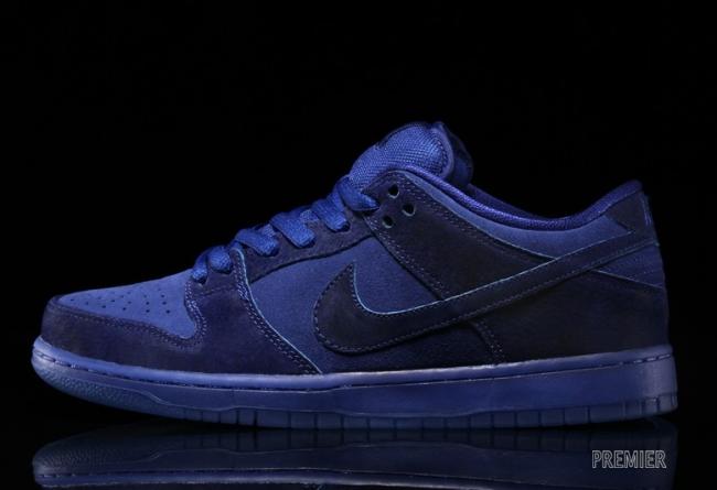 Nike SB Dunk Low 313170-444 Nike SB Dunk Low 蓝色月亮新色登场