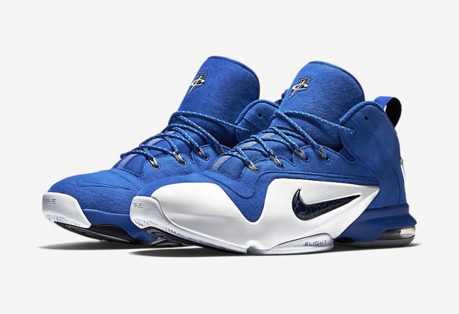 "749629-401,Air Penny 6,Nike 749629-401 Nike Air Penny 6 ""Royal"" 官方图片发布"