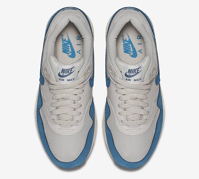 """599820-019,Air Max 1,Nike 599820-019 Nike Air Max 1 Essential """"Brigade Blue"""" 官方图片"""