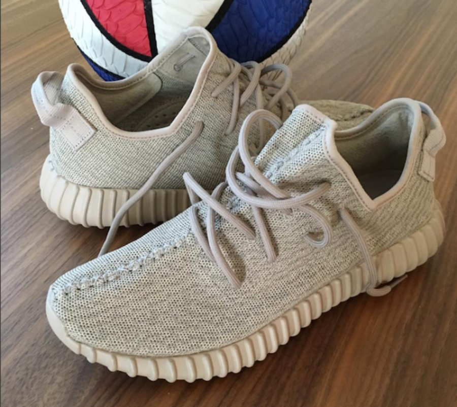 Authentic AQ 2660 Yeezy 350 Boost Agate Gray Moonrock Agate Gray