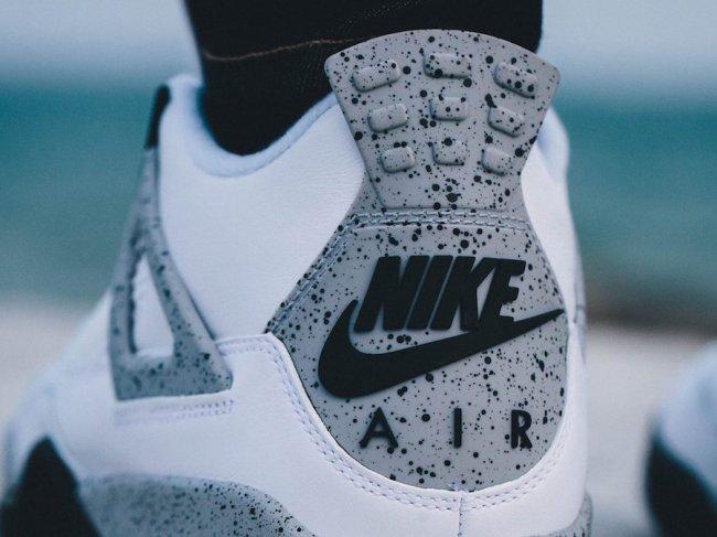 """840606-192,AJ4,Air Jordan 4 840606-192AJ4白水泥 白水泥 Air Jordan 4 """"White Cement"""" 现已发售"""