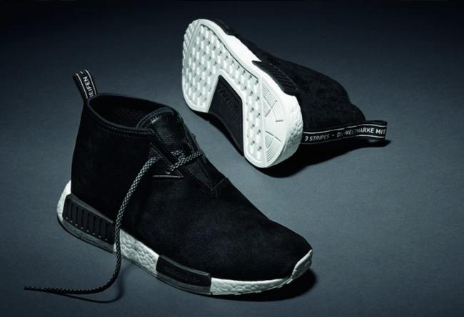adidas NMD Chukka Black Suede 3 月 17 日发售