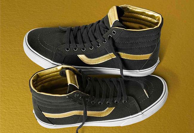 VANS  VANS 50 周年金色系列鞋款正式亮相