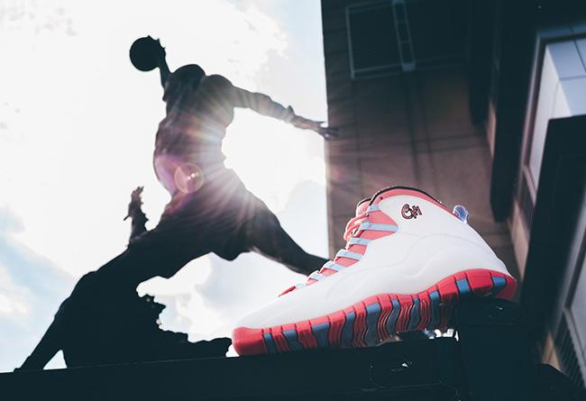 AJ10,Air Jordan 10 AJ10 城市巡礼,Air Jordan 10 CHI & LA 双色美图欣赏