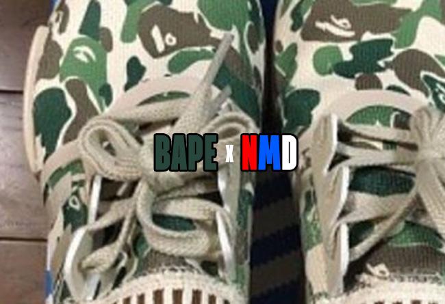 NMD,adidas A BATHING APE 这个不得了!BAPE x adidas NMD 联名款现身!