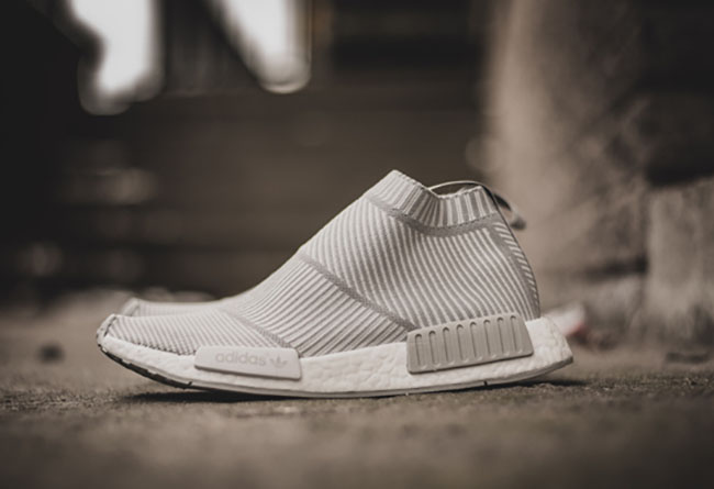 新款 adidas NMD City Sock PK White Grey 本周亮相