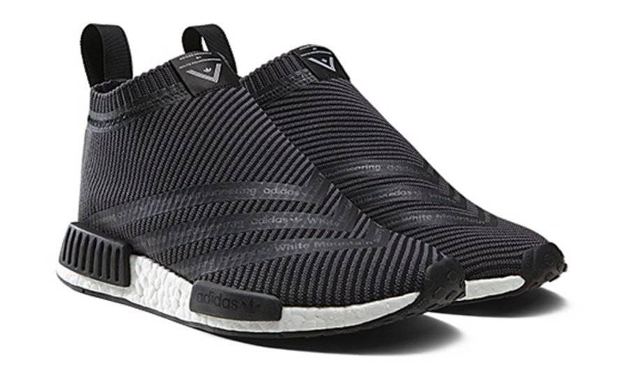 adidas,NMD City Sock  高帮联名款 White Mountaineering x NMD City Sock 将于 10 月发售