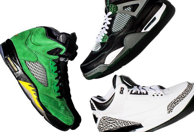 AJ,Oregon Ducks  将有大动作?!Nike 官方带来 Oregon Ducks x Jordan Brand 全系列展示