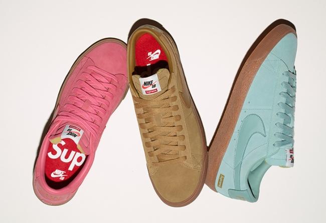 716890-009,Supreme,Blazer Low  强强再联手!Supreme x Nike SB Blazer Low GT 本周发售!