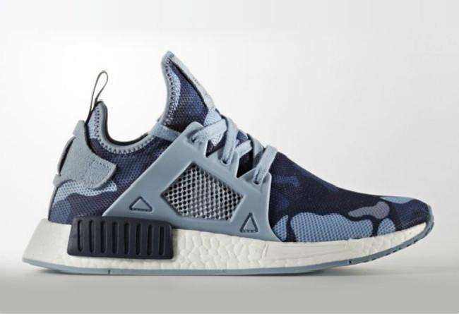 蓝色鸭纹迷彩 adidas NMD XR1 Blue Camo 即将发售