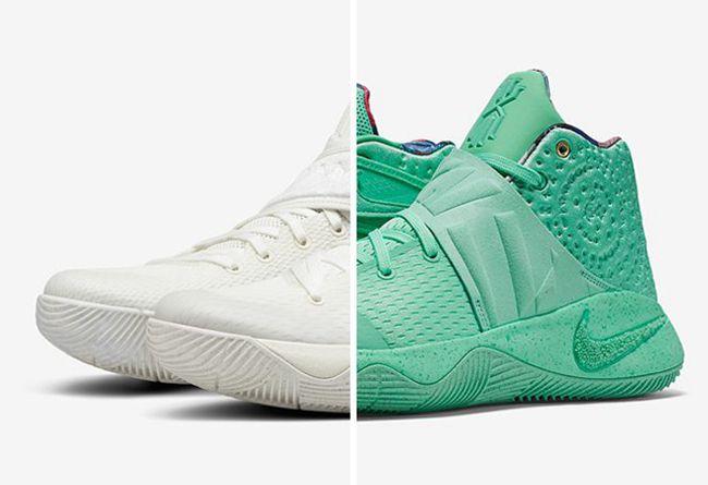 "Nike,Kyrie 2,914681-300,914681  套路满满!Nike Kyrie 2 ""What The"" 细节近赏"