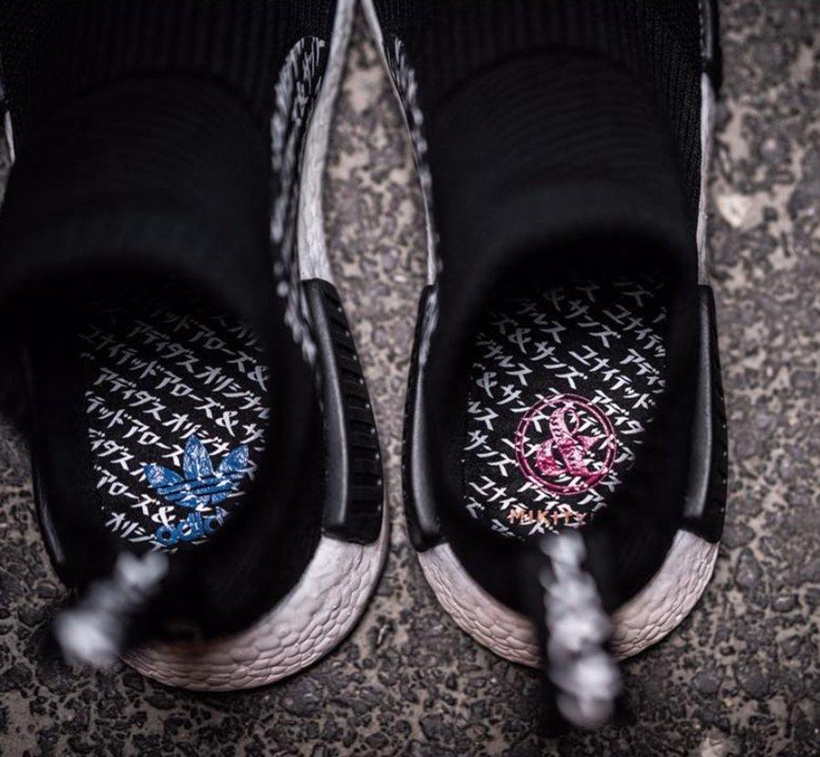 NMD,City Sock,UNITED ARROWS &  全新联名款曝光!UNITED ARROWS                                                         x adidas NMD City Sock