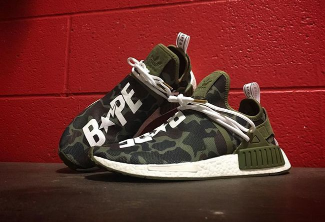 new product e91a8 ea5a6 Supreme x Yeezy 过后!这双Bape x NMD XR1 将唾手可得球鞋资讯 ...