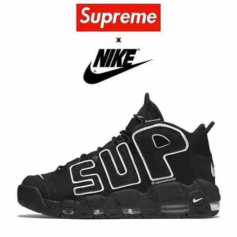 Supreme,Nike,Air More Uptempo  画质感人!Supreme x Nike Air More Uptempo 实物谍照曝光