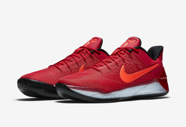 "Nike,852425-608,Kobe AD  喜庆大学红!Nike Kobe AD ""University Red"" 官网已上架"