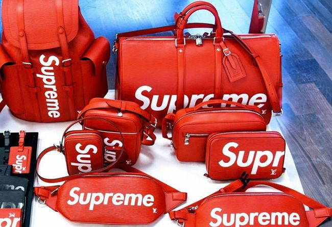 supreme x lv 人气单品近览