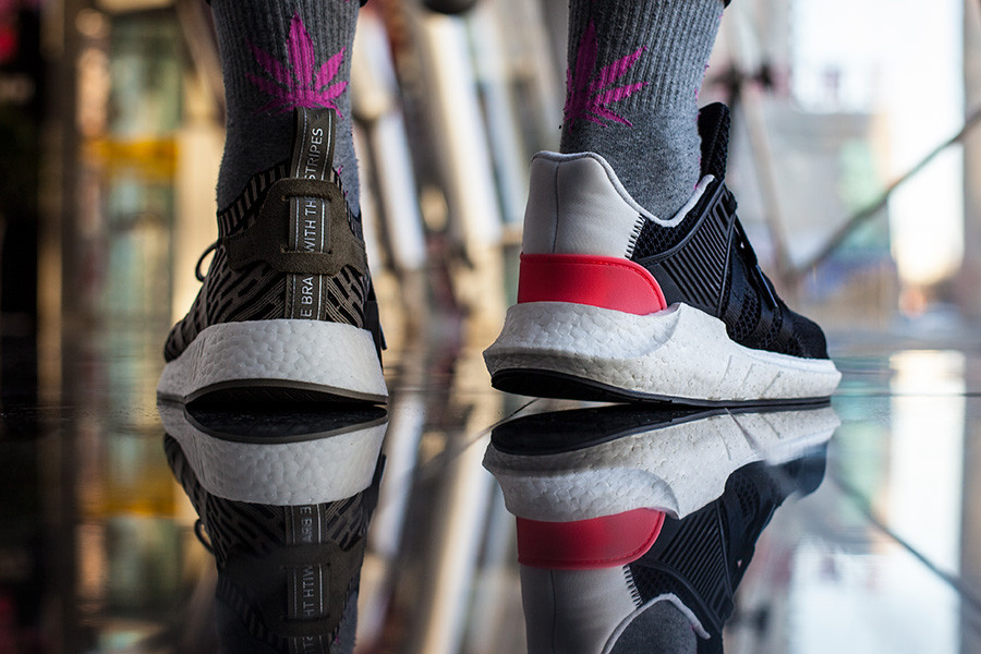 adidas,EQT Support 93/17  小编穿过的最舒服的球鞋!就是这双!没有之一!