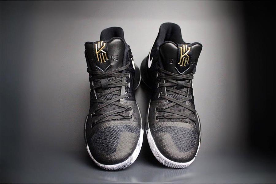 """852417-001,Kyrie 3,Nike 852417-001 黑人月 Kyrie 3 """"BHM"""" 今早上架瞬间售罄!"""