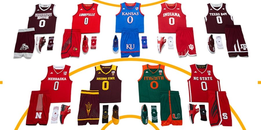 "NCAA,Create Yours,adidas  疯狂三月来袭!adidas 发布 NCAA ""Create Yours"" 系列"