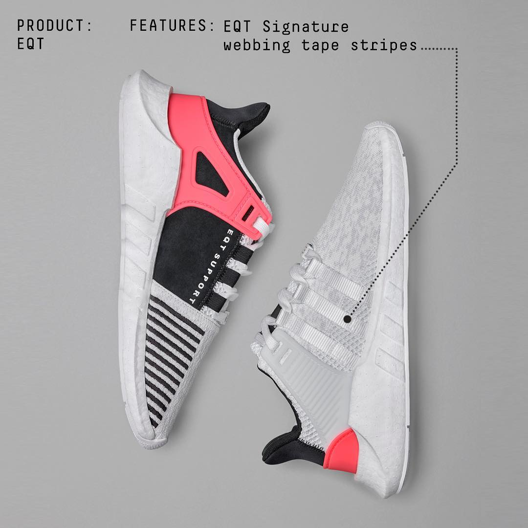 adidas,EQT Support 93/17,BA747  adidas Originals 官方宣布 EQT 93/17 Boost 阴阳月底发售!