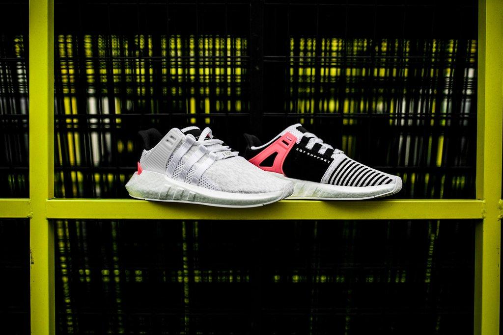 adidas,EQT Support 93/17,BA747  本周你将有机会入手 EQT Support 93/17 的全新配色!