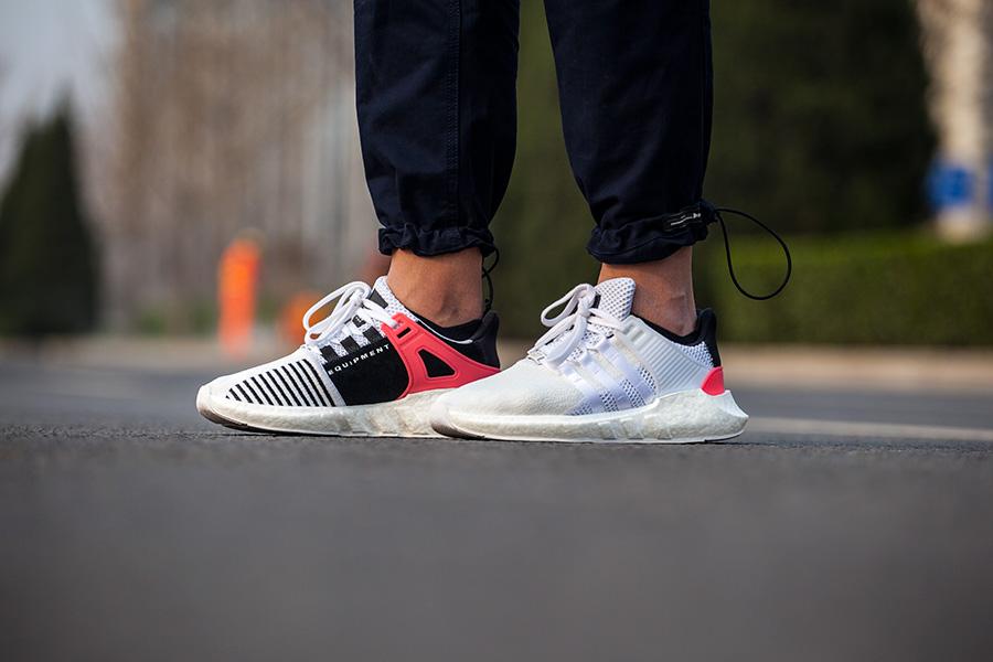 "adidas,EQT Support 93/17,BA747  明天除了脚感逆天的 EQT,还有双 ""白斑马"" 值得你关注!"