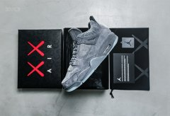 Cheap AIR JORDAN IV 4 x KAWS sz 9