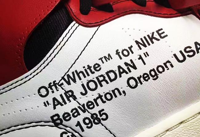 OFF-WHITE,AJ1,Air Jordan 1 AirJordan1 目前价超 2W!OFF-WHITE x AJ1 人气不输闪电联名!