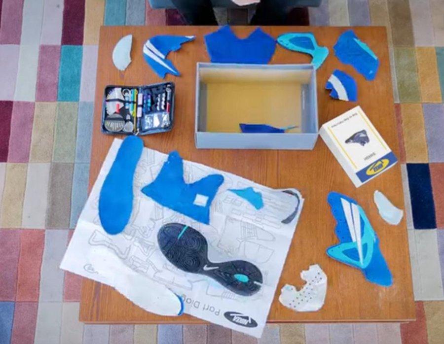 """NIKE,IKEA,全新,联名,企划,来自,"""",NIKEA,  Nike 要跟 IKEA 搞事情?!推出球鞋组装定制服务?"""