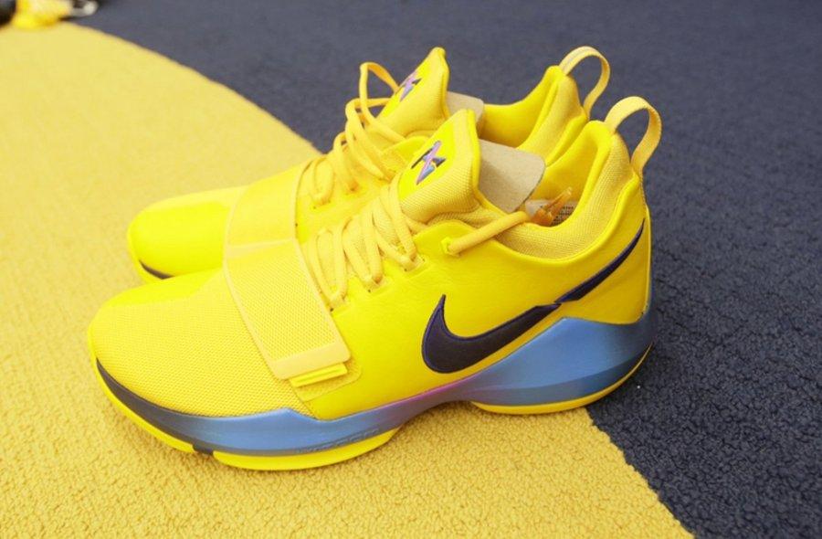 """Nike,PG 1  """"断勾"""" 抢先上脚!泡椒今天这双 Nike PG 1 你打几分?"""