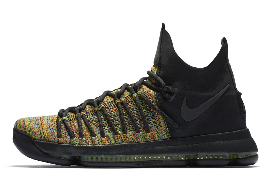 "Nike,KD9 Elite  彩色编织鞋面!精英版本 KD 9 Elite ""Multicolor"" 本月发售!"
