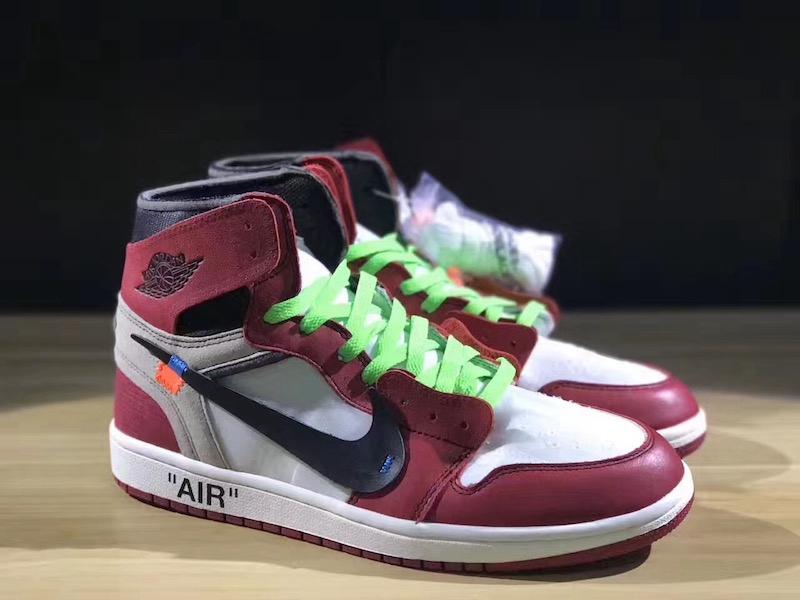 off-white,air jordan 1,aj1 四幅鞋带!图片