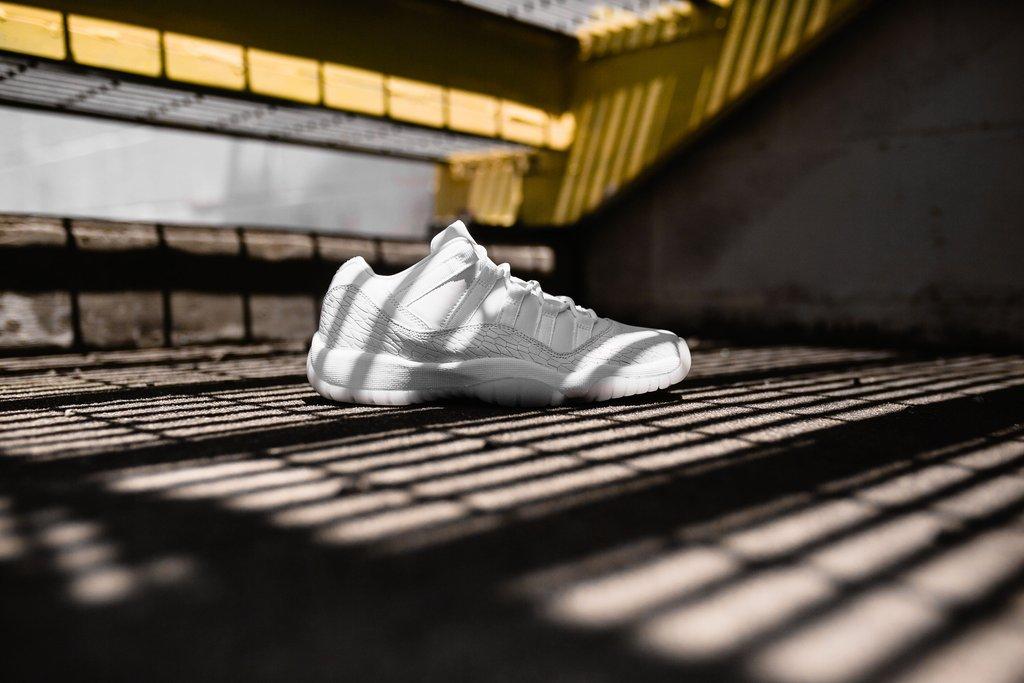 AJ11,Air Jordan 11,897331-100  女神级别的小白鞋!Air Jordan 11 Low 将于本周发售!