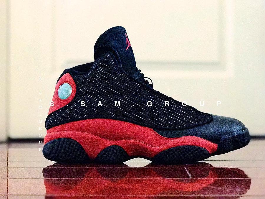 """AJ13,Air Jordan 13 AJ13 8 月 19 日发售!全新款黑红 Air Jordan 13 """"Bred"""" 实物曝光!"""