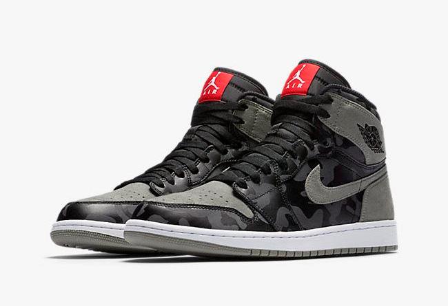 AA3993-034,AJ1,Air Jordan 1 AA3993-034 AJ1 3M 迷彩加持!这双 Air Jordan 1 Premium 有点厉害哦!