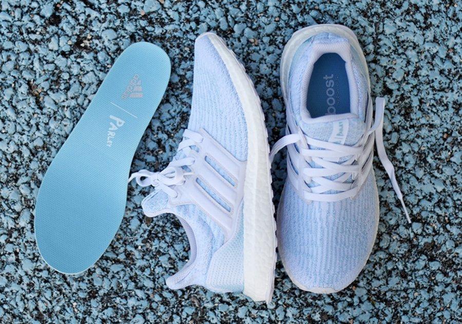 adidas,Parley,Ultra Boost 3.0  浅蓝色海洋!全新 adidas Parley Ultra Boost 3.0 实物释出