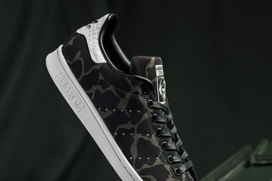 adidas,Stan Smith  迷彩鞋面!超人气 adidas Stan Smith 推出全新配色!